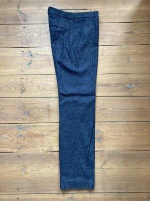 Hugo Boss Pantalón de pinza gris antracita-gris oscuro Lana