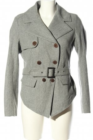 Hugo Boss Cabanjacke hellgrau Casual-Look