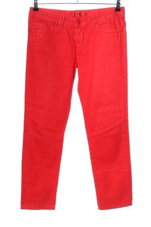 Hugo Boss Corduroy broek roze casual uitstraling