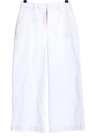 Hugo Boss Pantalon en velours côtelé blanc style d'affaires