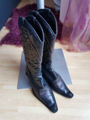 HUGO BOSS Cowboy Stiefel Gr. 37