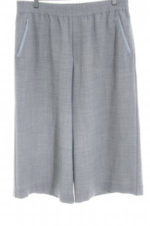 Hugo Boss Culottes hellgrau Business-Look