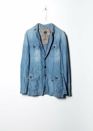 Hugo Boss Long Sleeve Shirt blue denim