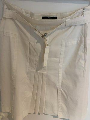 Hugo Boss Damenrock in Weiß Gr. 36