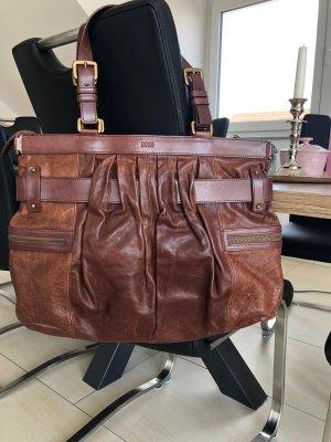 Hugo Boss Handbag brown-cognac-coloured