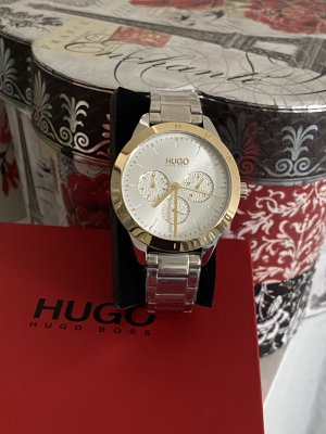 Hugo Boss Analog Watch gold-colored-silver-colored