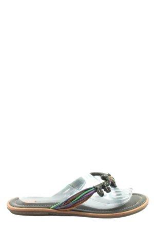 Hugo Boss Dianette sandalen zwart casual uitstraling