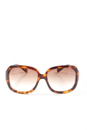 Hugo Boss Angular Shaped Sunglasses brown-light orange