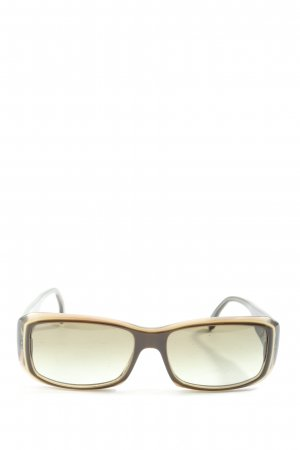 Hugo Boss Gafas de sol cuadradas color bronce-negro look casual