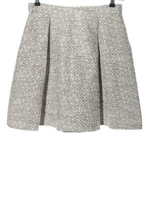 Hugo Boss Plisowana spódnica jasnoszary Melanżowy W stylu casual
