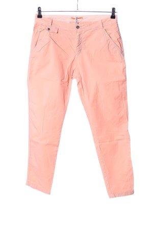 Hugo Boss Pantalon cinq poches rose chair style décontracté
