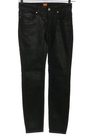 Hugo Boss Five-Pocket Trousers black mixture fibre