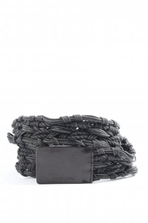 Hugo Boss Braided Belt black casual look
