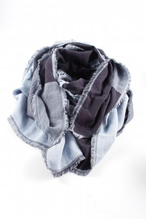 Hugo Boss Fringed Scarf flecked casual look