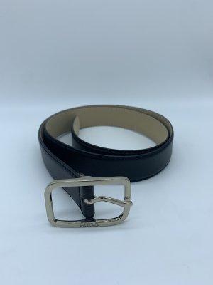 Hugo Boss Leather Belt black leather