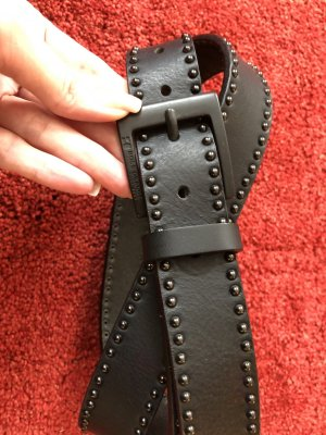 HUGO Hugo Boss Leather Belt black
