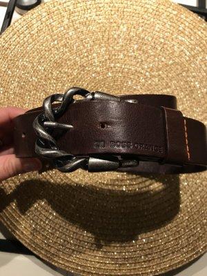 HUGO Hugo Boss Cinturón pélvico marrón-negro