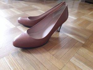 BOSS HUGO BOSS Chaussures Mary Jane cognac
