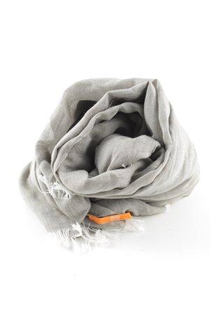 Hugo Boss Foulard gris clair style décontracté