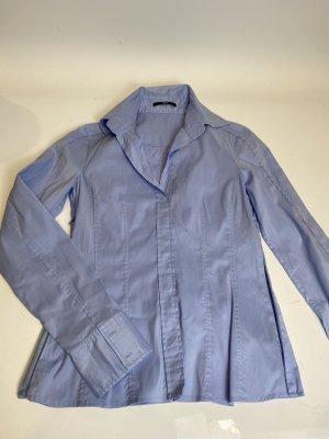 Hugo Boss Hemd blau Gr. 34