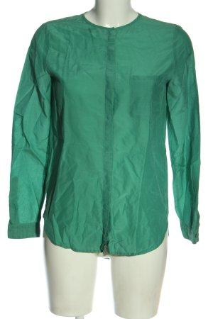 Hugo Boss Hemd-Bluse grün Business-Look