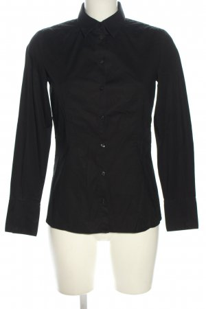 Hugo Boss Hemd-Bluse schwarz Business-Look