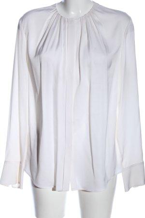 Hugo Boss Hemd-Bluse weiß Casual-Look