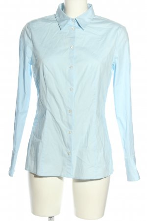 Hugo Boss Hemd-Bluse blau Business-Look
