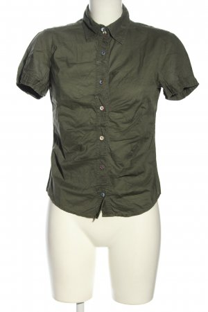 Hugo Boss Hemd-Bluse khaki Casual-Look