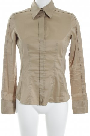 Hugo Boss Hemd-Bluse beige Business-Look