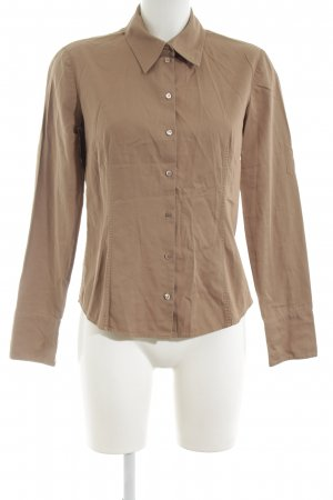 Hugo Boss Hemd-Bluse nude Business-Look