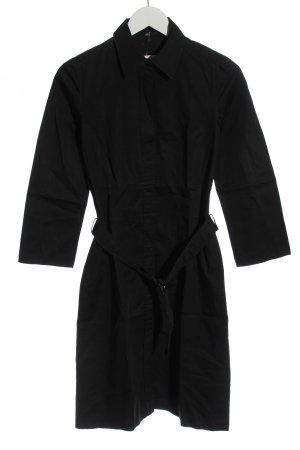 Hugo Boss Robe chemise noir style décontracté