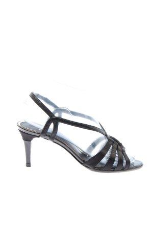 Hugo Boss High Heel Sandaletten schwarz Casual-Look