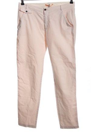 Hugo Boss Pantalone a vita alta rosa pallido stile casual