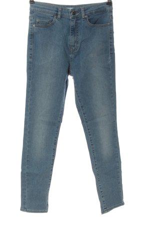 Hugo Boss Jeans a vita alta blu stile casual