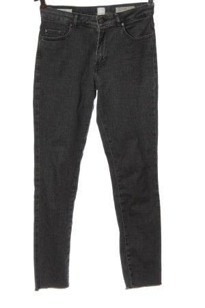 Hugo Boss High Waist Jeans schwarz Casual-Look