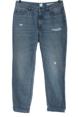 Hugo Boss High Waist Jeans blau Casual-Look