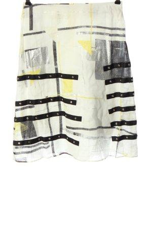 Hugo Boss Spódnica z wysokim stanem Abstrakcyjny wzór W stylu casual