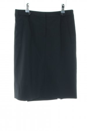 Hugo Boss High Waist Rock blau Casual-Look
