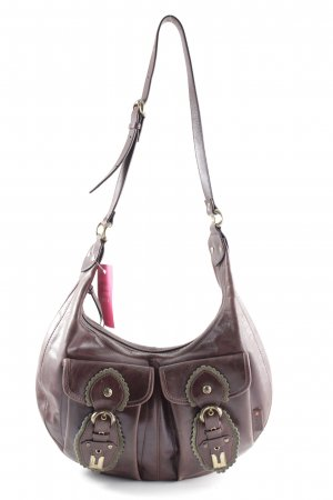 Hugo Boss Bolsa Hobo color bronce look casual
