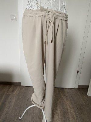 Hugo Boss Pantalone peg-top beige chiaro