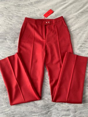 BOSS HUGO BOSS Woolen Trousers carmine