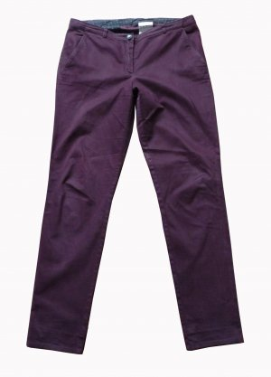 Hugo Boss Jersey Pants bordeaux cotton