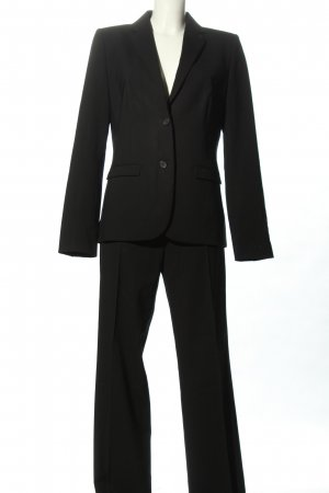 Hugo Boss Tailleur pantalone nero stile casual