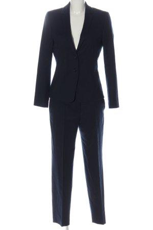 Hugo Boss Hosenanzug blau Business-Look
