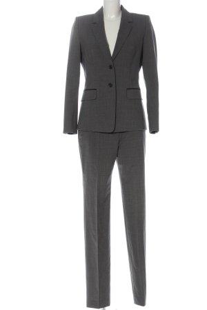 Hugo Boss Tailleur-pantalon gris clair moucheté style d'affaires
