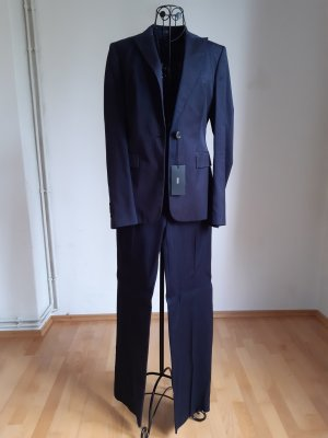 Hugo Boss Pinstripe Suit dark blue