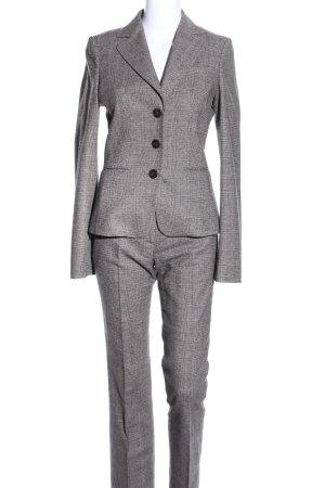 Hugo Boss Traje de pantalón gris claro estampado a cuadros estilo «business»