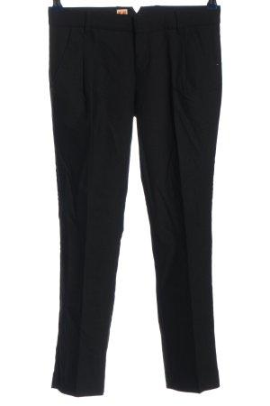 Hugo Boss Lage taille broek zwart zakelijke stijl