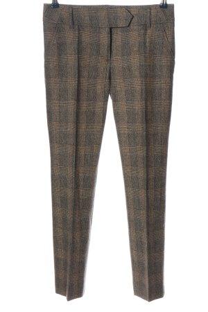 Hugo Boss Pantalone a vita bassa crema-grigio chiaro motivo a quadri